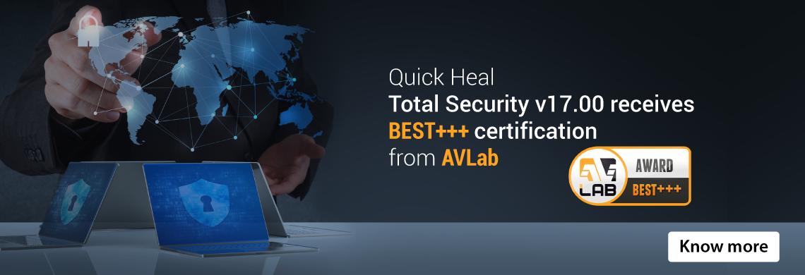 BEST+++ certification from AVLab