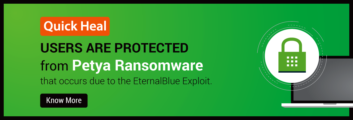 Protect your business from Petya Ransomware that occurs due to the EternalBlue Exploit