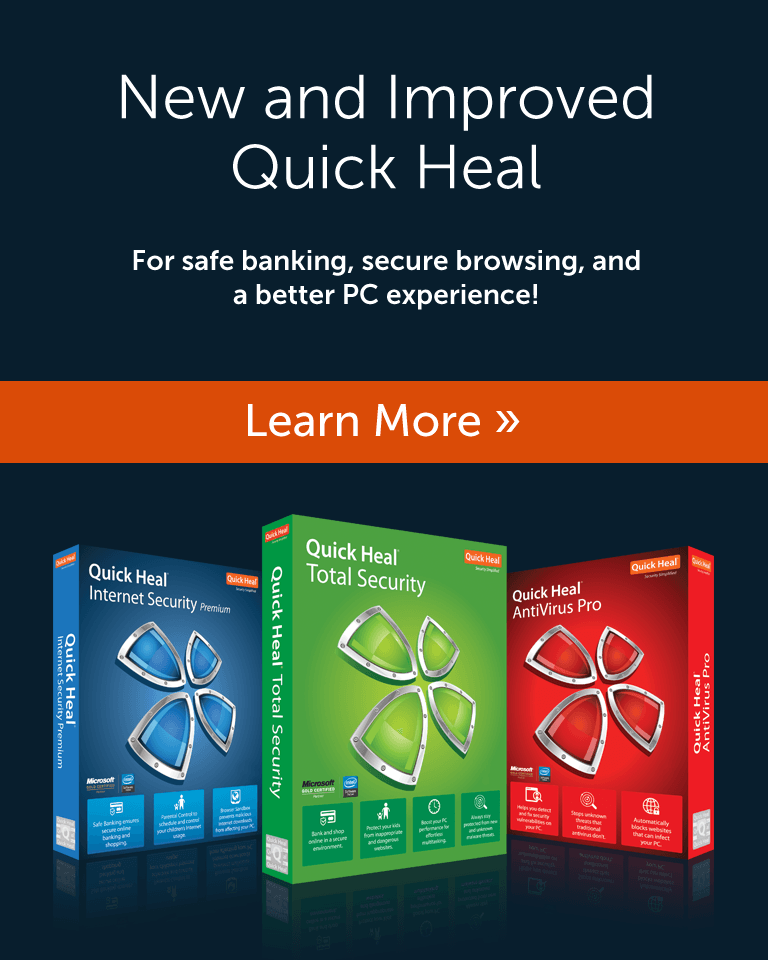 New and Improved Quick Heal